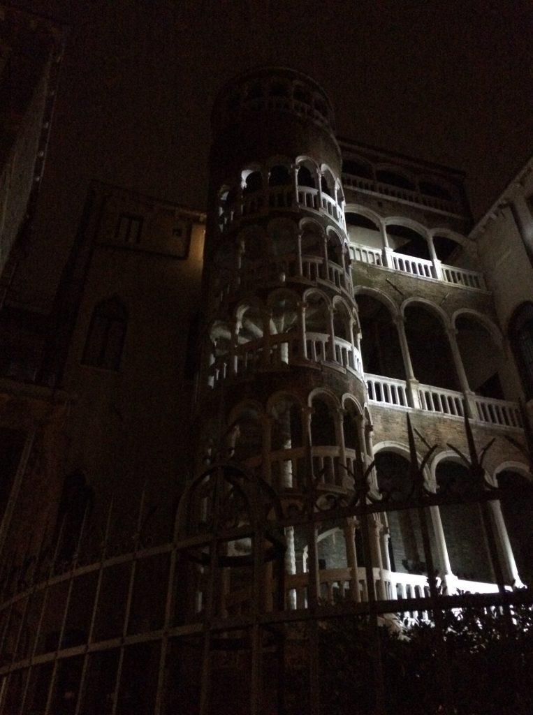 Venedig kann sehr kalt sein